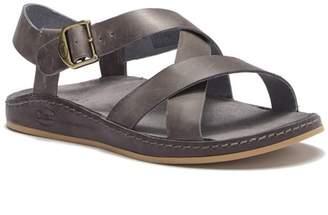 Chaco Wayfarer Leather Strappy Sandal