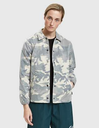 Stussy Lenny Translucent Coach Jacket in Camo