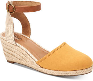 Style&Co. Style & Co Mailena Wedge Espadrille Sandals, Women Shoes