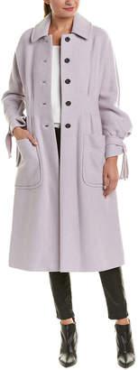 Rebecca Taylor Melton Wool-Blend Coat
