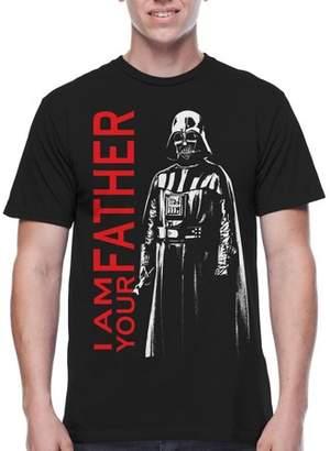 Star Wars Movies & TV Darkest Family Big Men's Graphic T-shirt, 2XL