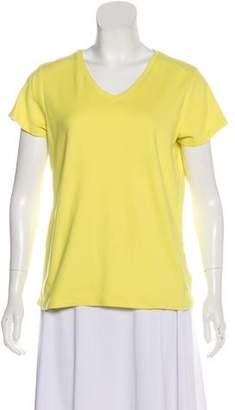 Isaac Mizrahi Tonal Short Sleeve Top
