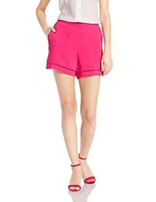 Trina Turk Women's Bubbly Ladder Stitch Pull On Short