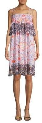 Antik Batik Printed Cotton Shift Sundress