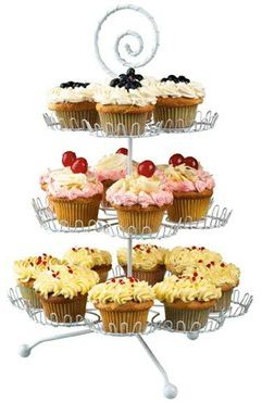 Cupcake Stand (18-c.) by Boston Warehouse