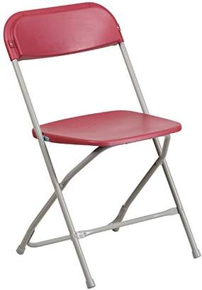 Flash Furniture Hercules Series 800-Pound Premium Plastic Folding Chair