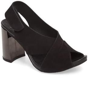 Pedro Garcia Yomar Mirror Heel Sandal