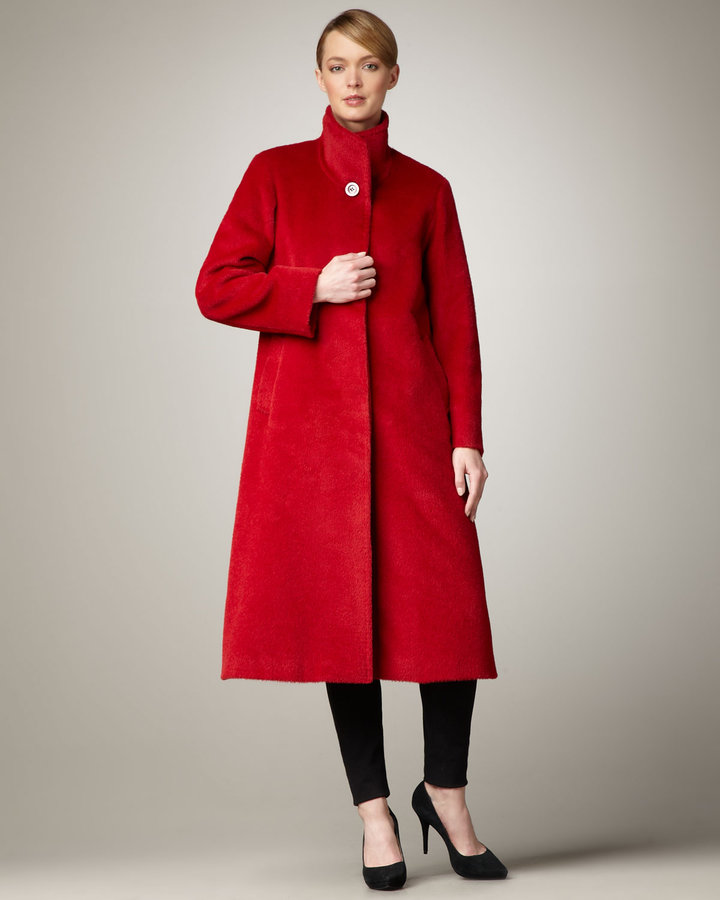 Cinzia Rocca Long A-Line Coat