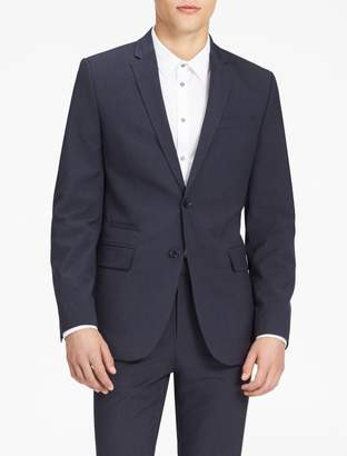 Calvin Klein infinite stretch slim fit navy suit jacket