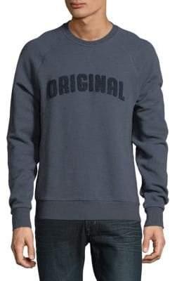 Original Penguin Raglan-Sleeve Cotton Sweatshirt