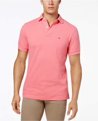 Tommy Hilfiger Men Custom-Fit Ivy Polo