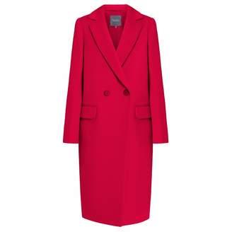 InAvati - Classy Italian Wool Coat Red