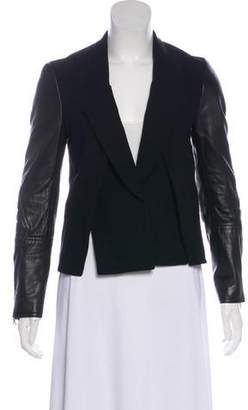 3.1 Phillip Lim Fitted Wool-Blend Jacket