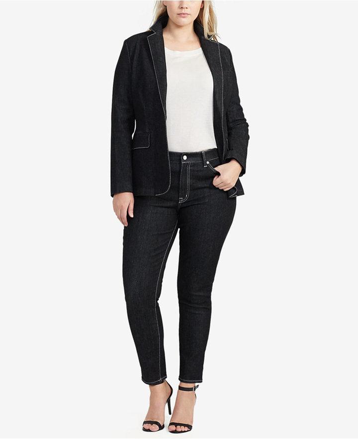 Lauren Ralph LaurenLauren Ralph Lauren Plus Size Ankle-Grazing Denim Jeans