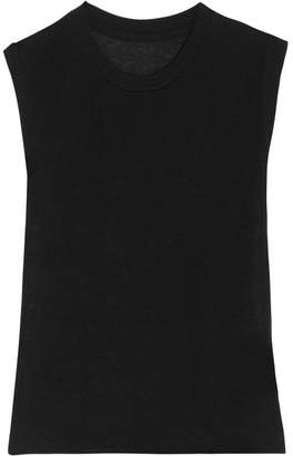 The Elder Statesman Royal Cashmere And Silk-blend Tank