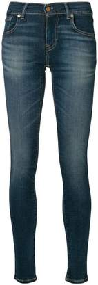 Polo Ralph Lauren high-waisted faded skinny jeans