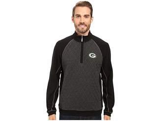 Tommy Bahama Green Bay Packers NFL Gridiron 1/2 Zip Pullover Men's Sweatshirt