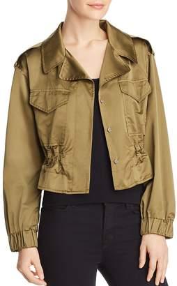 Milly Taffeta Tech Jacket