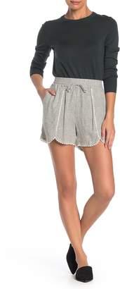 Caslon Linen Blend Shorts (Regular & Petite)