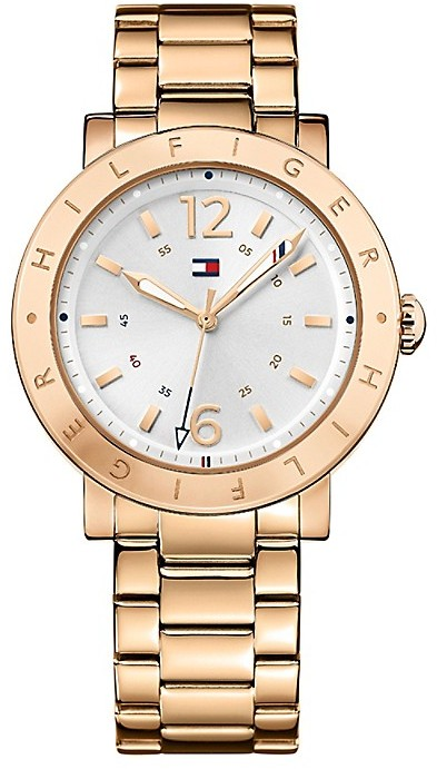Tommy Hilfiger Rose Gold Sport Watch