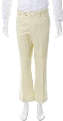 Borrelli Flat Front Chino Pants