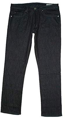 Buffalo David Bitton Mens Driven-X Basic Straight Stretch Jeans (32x34, Rinsed Indigo)