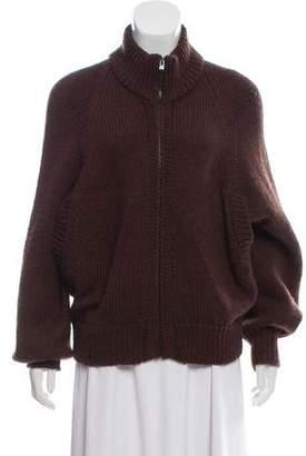 Veronique Branquinho Wool Zip-Up Sweater