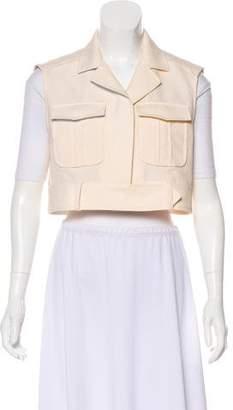 Balenciaga Cropped Button Vest