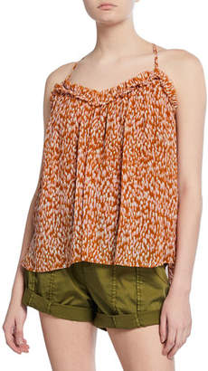 29214084a02ae5 Joie Ackley Casual Printed Spaghetti Strap Top