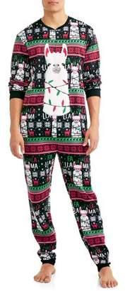 DEC 25TH Men's Sleep, Falallama Christmas Union Suit