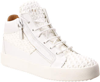 Giuseppe Zanotti The Manhattan Leather Sneaker