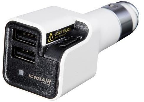 Air Ionic Car Air Purifier & Dual USB Car Charger