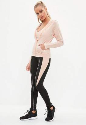 Missguided Pink Active Work It Jacket