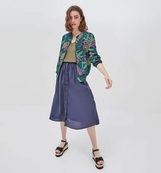 d7ccc825c132 Navy Blue Midi Skirt - ShopStyle UK