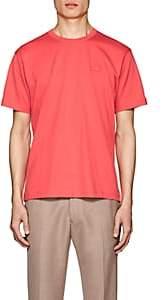 Acne Studios Men's Nash Face Cotton T-Shirt - Pink