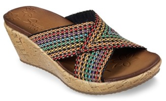 Skechers Delighted Wedge Sandal