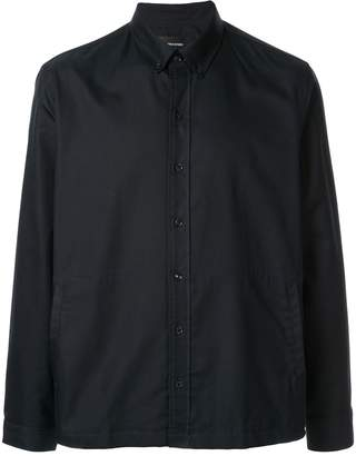 Band Of Outsiders untucked side pockets shirt