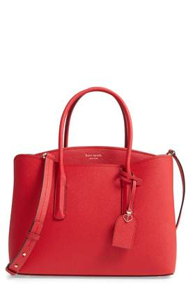 Kate Spade Large Margaux Leather Satchel