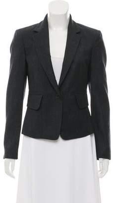 Calvin Klein Collection Wool Structured Blazer