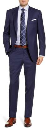 Peter Millar Flynn Classic Fit Houndstooth Wool Suit