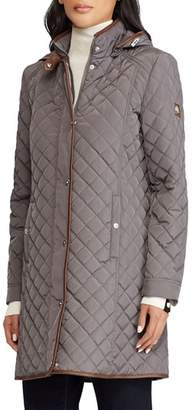 Lauren Ralph Lauren Quilted Hooded Coat