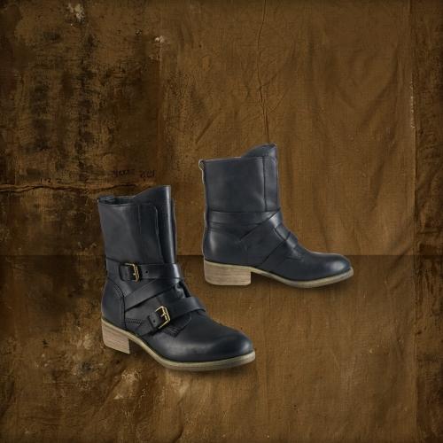Denim & Supply Ralph Lauren Thea Buckled Leather Boot