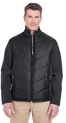 ULTRACLUB UltraClub Adult Soft Shell Jacket with Quilted Front & Back