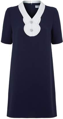 Claudie Pierlot Embellished Shift Dress