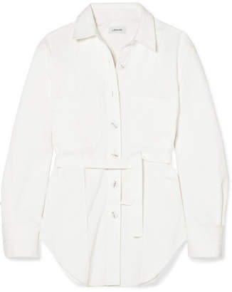 Lemaire Cotton-twill Shirt - White