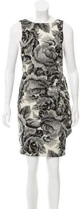 Alice + Olivia Sleeveless Printed Mini Dress