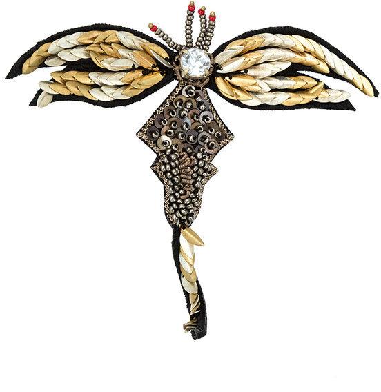 Cecilia PradoCecilia Prado embellished brooch