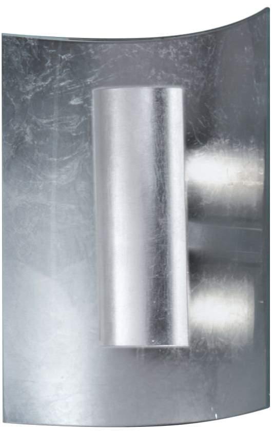 Hans Kögl EEK A, Wandleuchte Aura Silber 30 cm