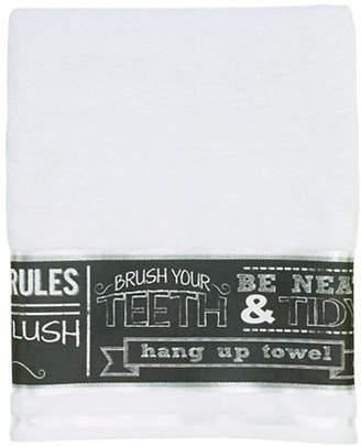 Avanti Chalk It Up Bath Towel
