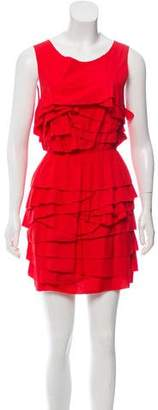3.1 Phillip Lim Sleeveless Ruffle Dress